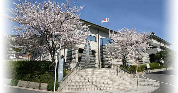 尾道市立中央図書館の外観