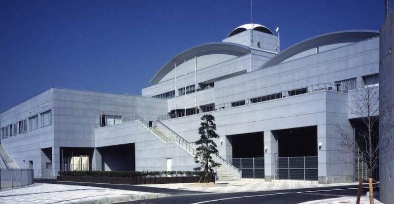 尾道市立因島図書館の外観