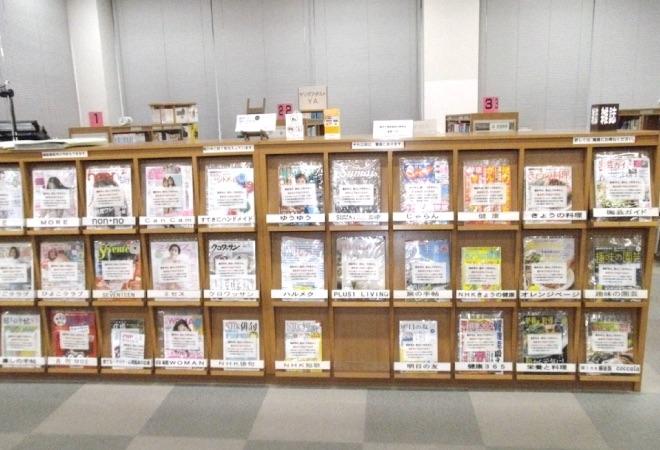 新聞・雑誌コーナー